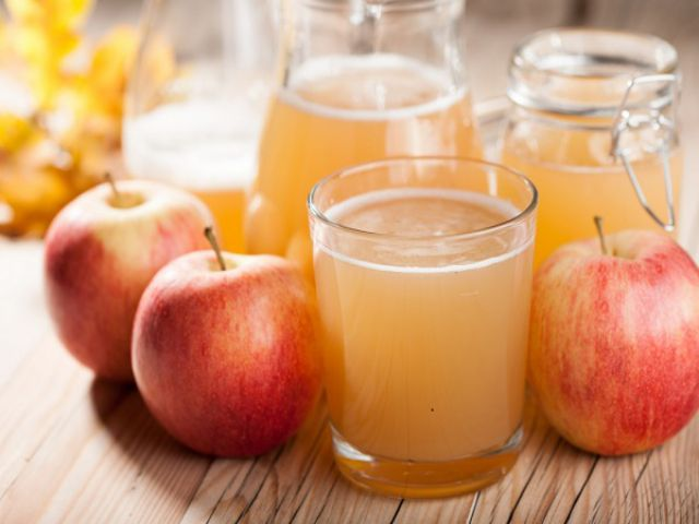 Nước ép táo tốt cho sức khỏe