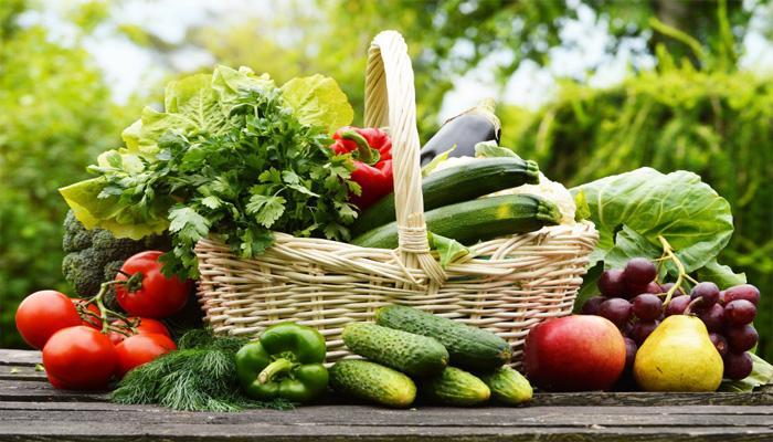 Rau củ quả tươi tốt cho sức khỏe